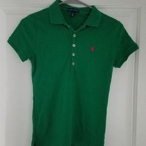Ralph Lauren kelly green Polo Shirt S 2/4